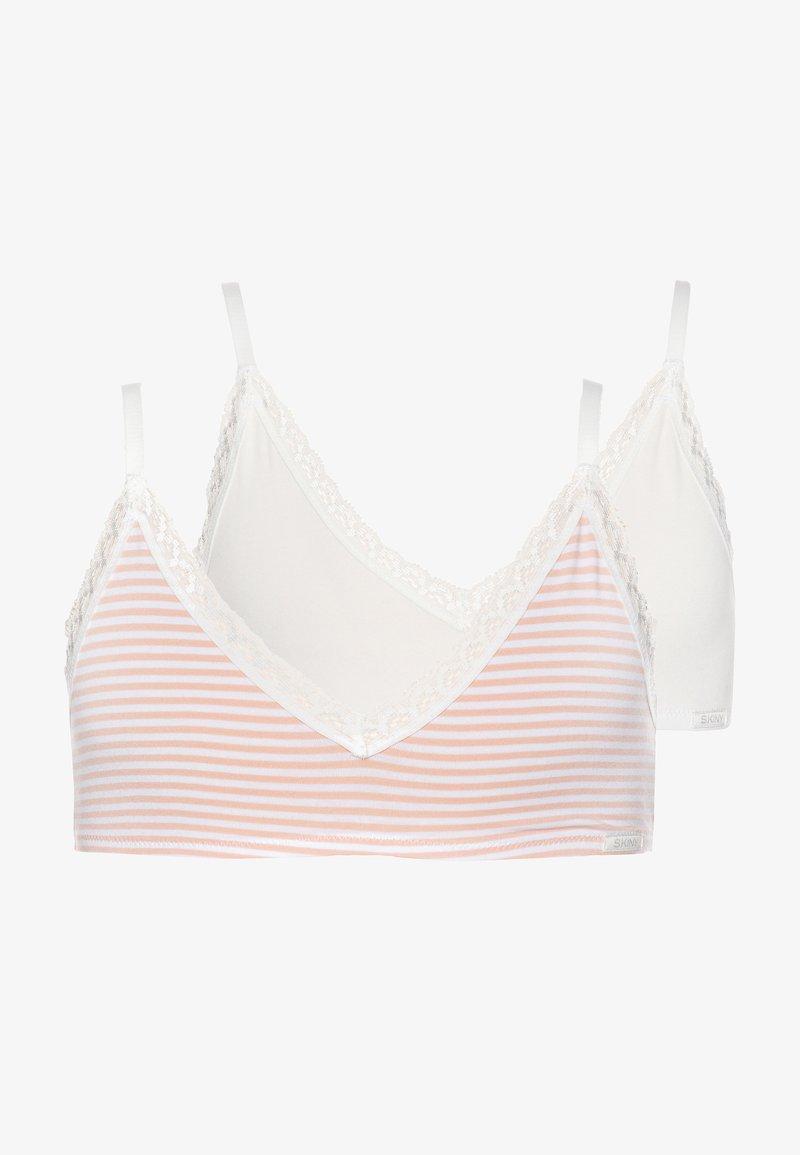 Skiny - GIRLS 2 PACK - Korzet - light pink/white