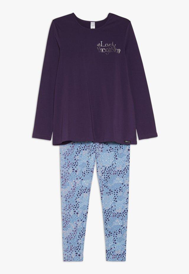 COSY NIGHT SLEEP GIRLS PYJAMA LANG - Pyjama set - grape