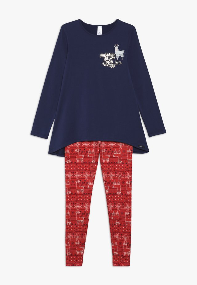 COSY NIGHT SLEEP GIRLS - Pyjama set - christmas blue