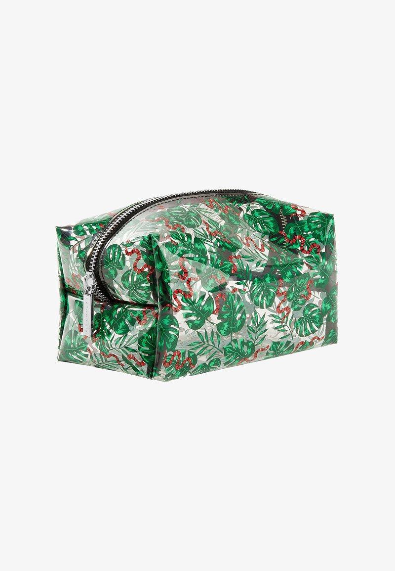 Skinnydip - SNAKE PALM MAKE-UP BAG - Trousse de toilette - -