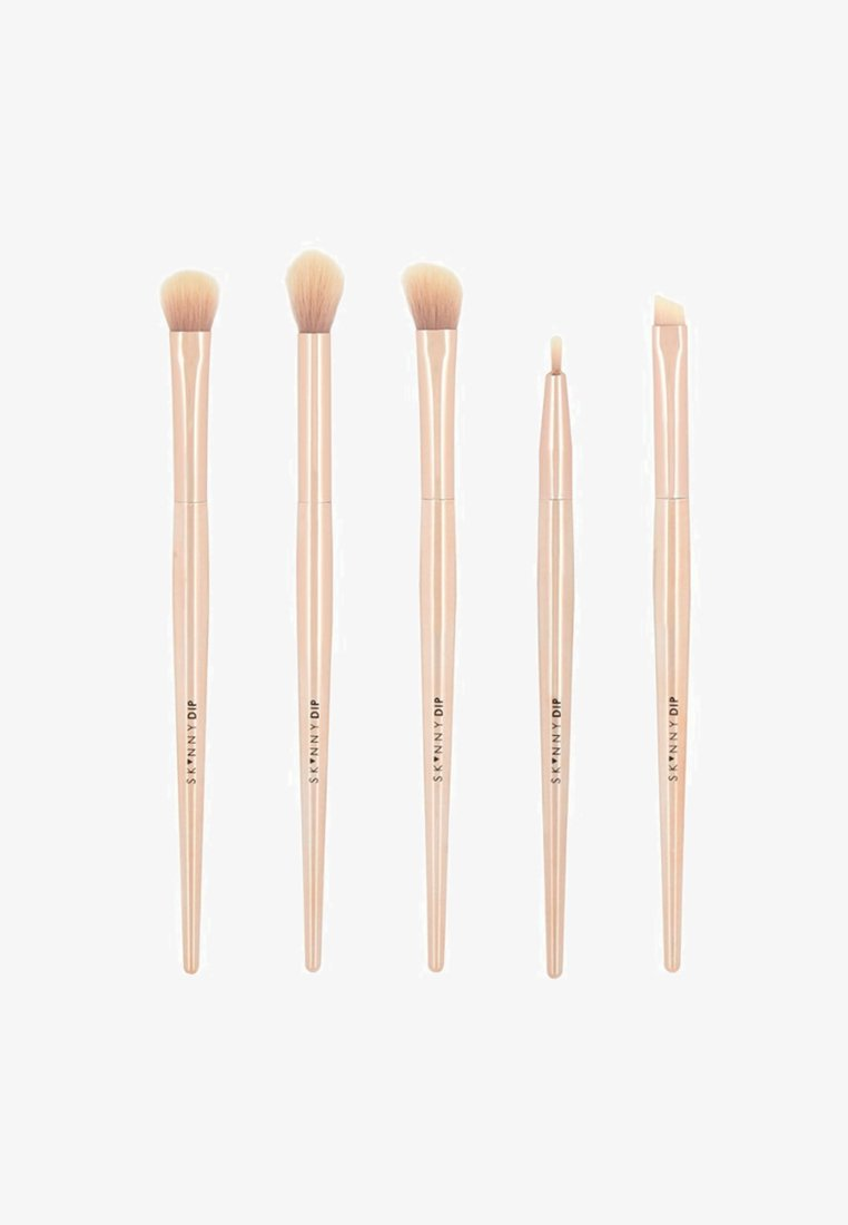 Skinnydip - EYE BRUSH SET - Pinsel-Set - rose gold