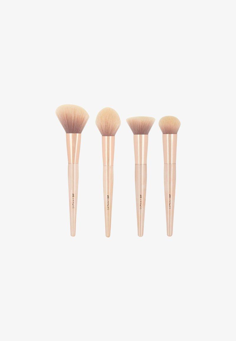 Skinnydip - ROSE GOLD CONTOUR BRUSH SET - Makeup brush set - rose gold