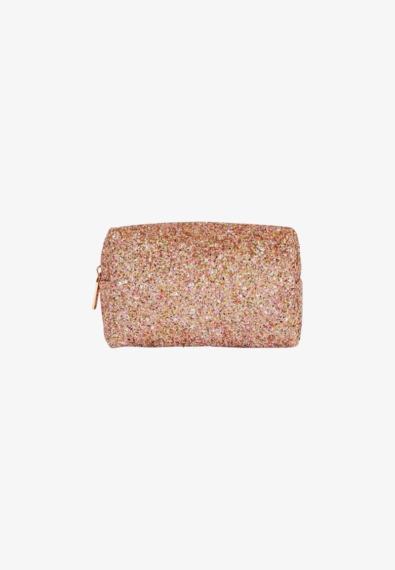 Skinnydip - SUNSET MAKE UP BAG - Wash bag - gold