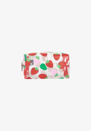 STRAWBERRY MAKE UP BAG - Kosmetiktasker - red