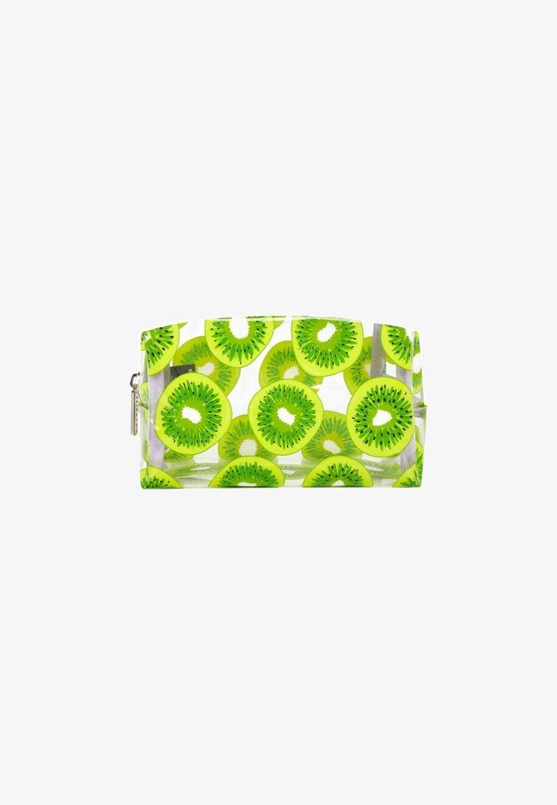 Skinnydip - KIWI MAKE UP BAG - Wash bag - green