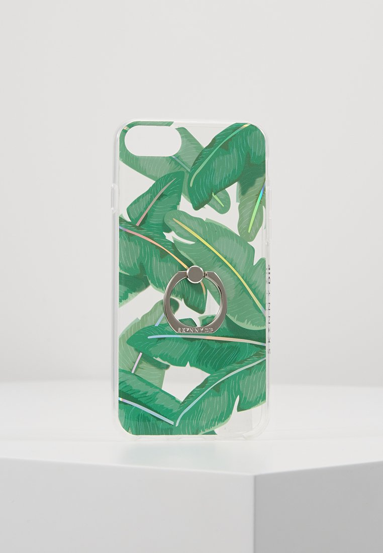 Skinnydip - LEAFY RING - Étui à portable - green