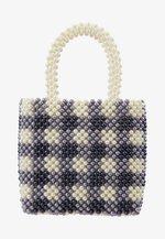 PENELOPE CHECK - Handtasche - blue