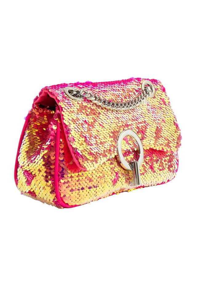 CORRI FUCHSIA SEQUIN - Across body bag - pink