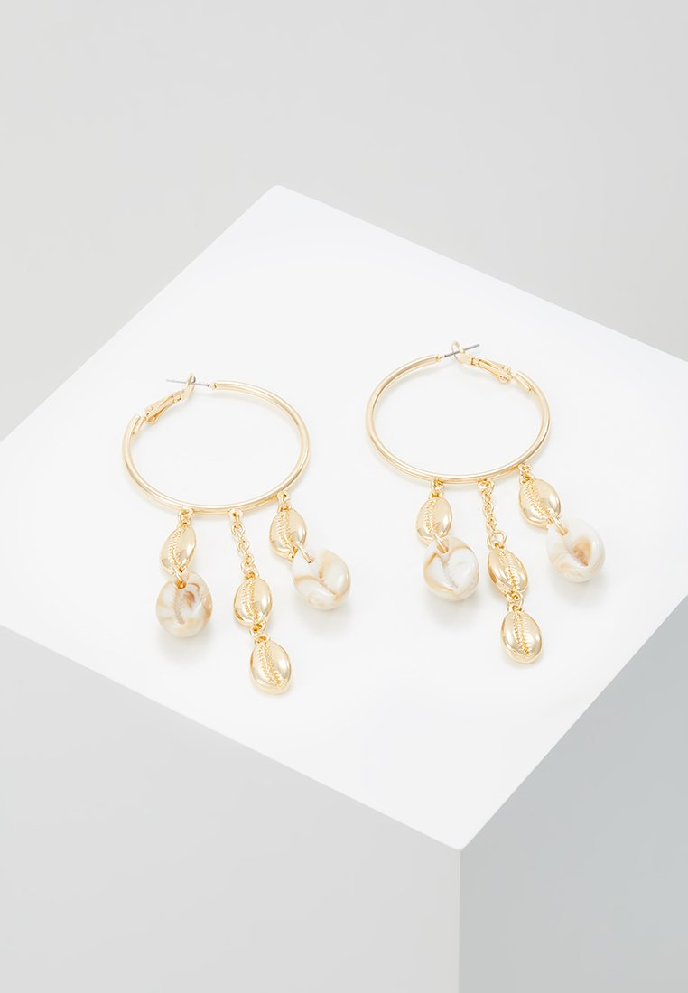 Skinnydip - MIXED COWRY - Earrings - gold-coloured