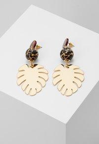 Skinnydip - LEAFY DROP - Boucles d'oreilles - gold-coloured - 0