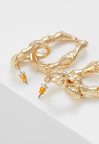 Skinnydip - BAMBOO CHAIN - Pendientes - gold-coloured - 2