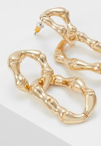 Skinnydip - BAMBOO CHAIN - Pendientes - gold-coloured - 4