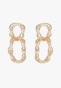 Skinnydip - BAMBOO CHAIN - Pendientes - gold-coloured - 3