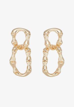 BAMBOO CHAIN - Örhänge - gold-coloured