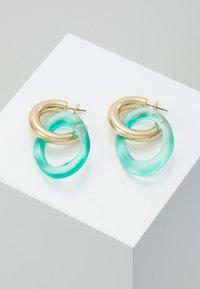 Skinnydip - LOOP - Boucles d'oreilles - green/gold-coloured - 0