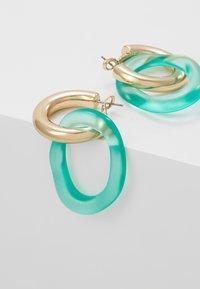 Skinnydip - LOOP - Boucles d'oreilles - green/gold-coloured - 4