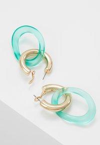 Skinnydip - LOOP - Boucles d'oreilles - green/gold-coloured - 2