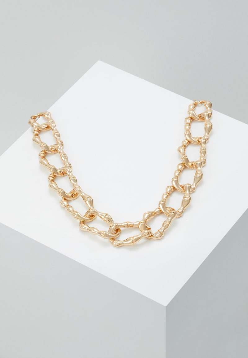 Skinnydip - CHUNKY NECKLACE - Naszyjnik - gold-coloured
