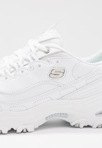 Skechers Wide Fit - WIDE FIT D'LITES - Trainers - white - 2