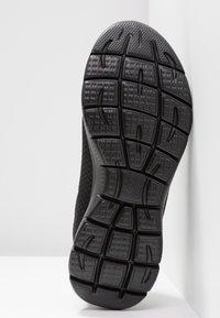 Skechers Wide Fit - SUMMITS - Sneakers laag - black - 6