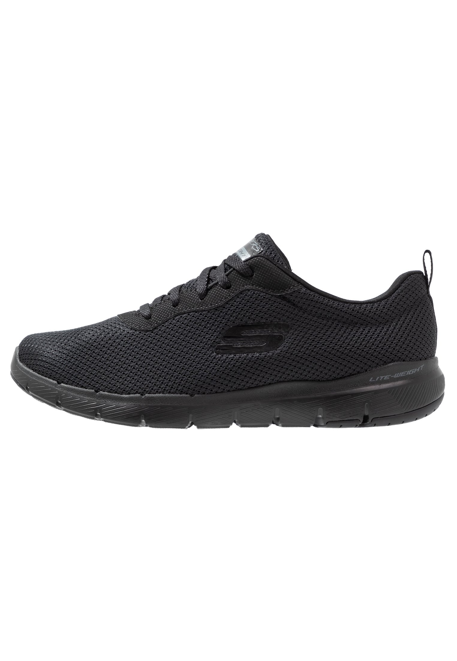 Skechers Wide Fit SYNERGY 3.0 Joggesko black Zalando.no