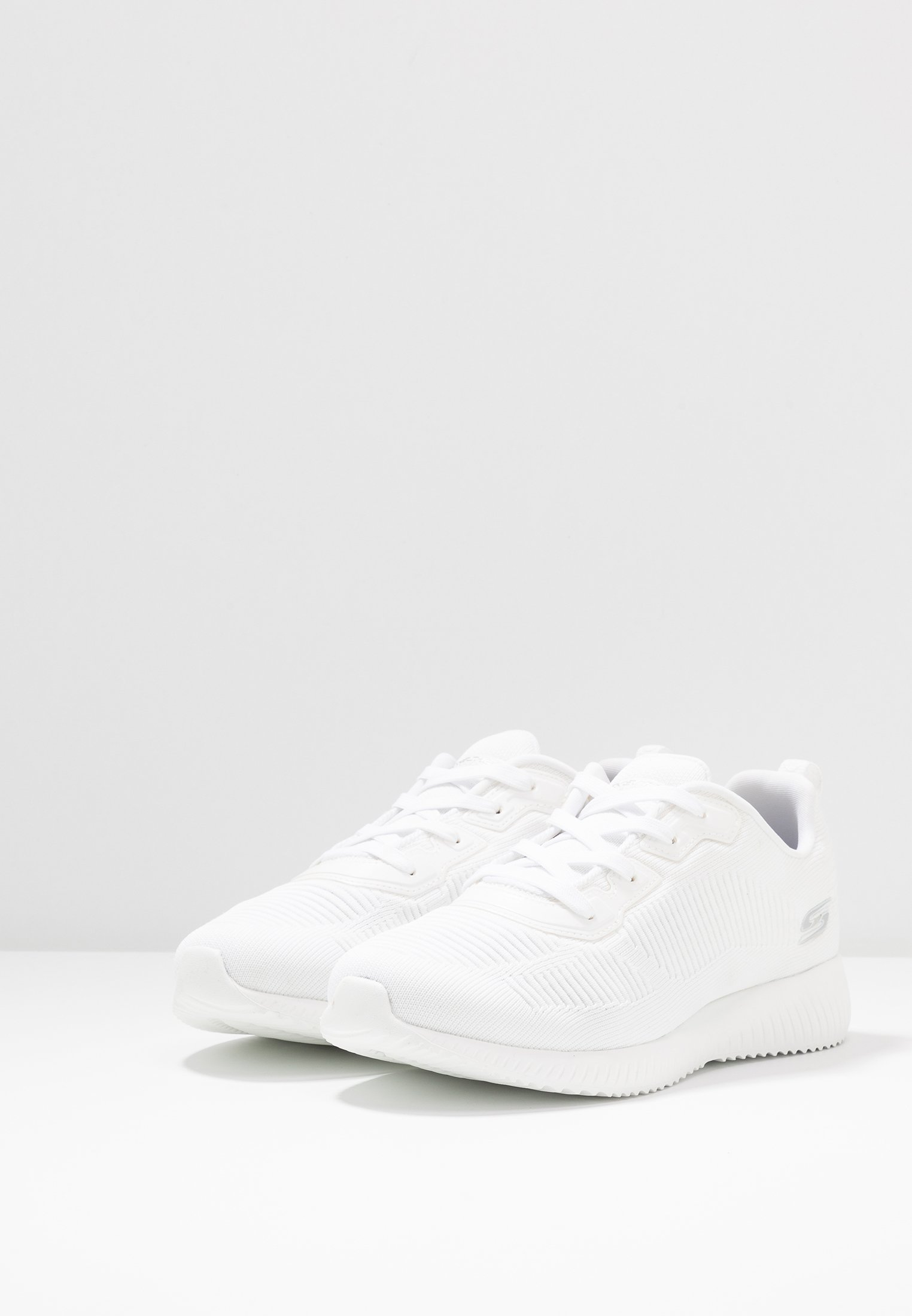 Skechers Wide Fit Bobs Squad - Sneakers Laag White