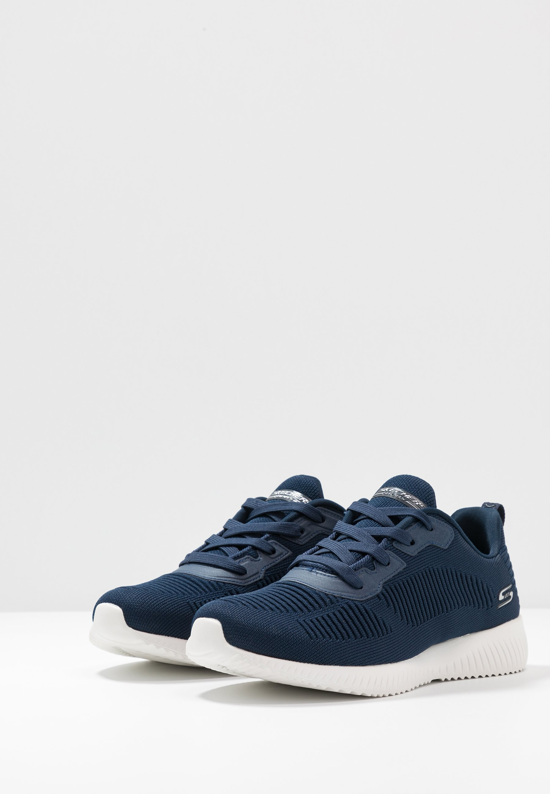 Skechers Wide Fit BOBS SQUAD - Trainers - navy