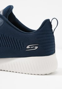 Skechers Wide Fit - BOBS SQUAD - Sneakers laag - navy - 2
