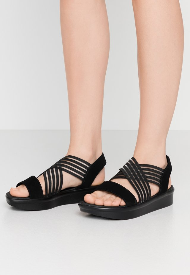 LIGHT STAR - Sandalen - black/charcoal