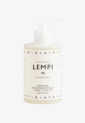 HAND WASH 300ML - Liquid soap - lempi white/black