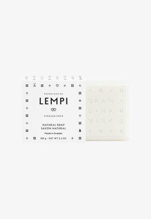 BAR SOAP 100G - Sæbebar - lempi white/black