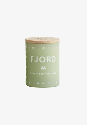 SCENTED MINI CANDLE 55G - Duftlys - fjord green