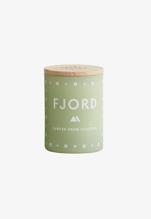 SCENTED MINI CANDLE 55G - Bougie parfumée - fjord green