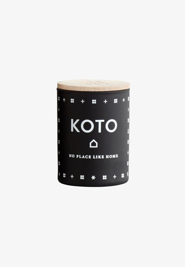 SCENTED MINI CANDLE 55G - Bougie parfumée - koto black