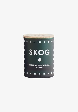 SCENTED MINI CANDLE 55G - Duftlys - skog forest green