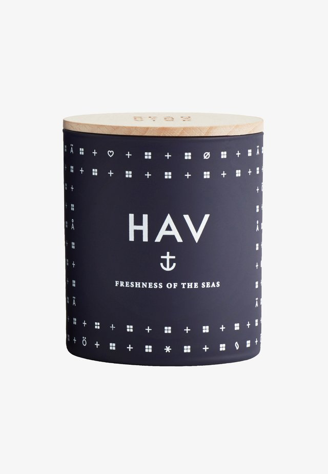 SCENTED CANDLE 190G - Duftlys - hav deep blue