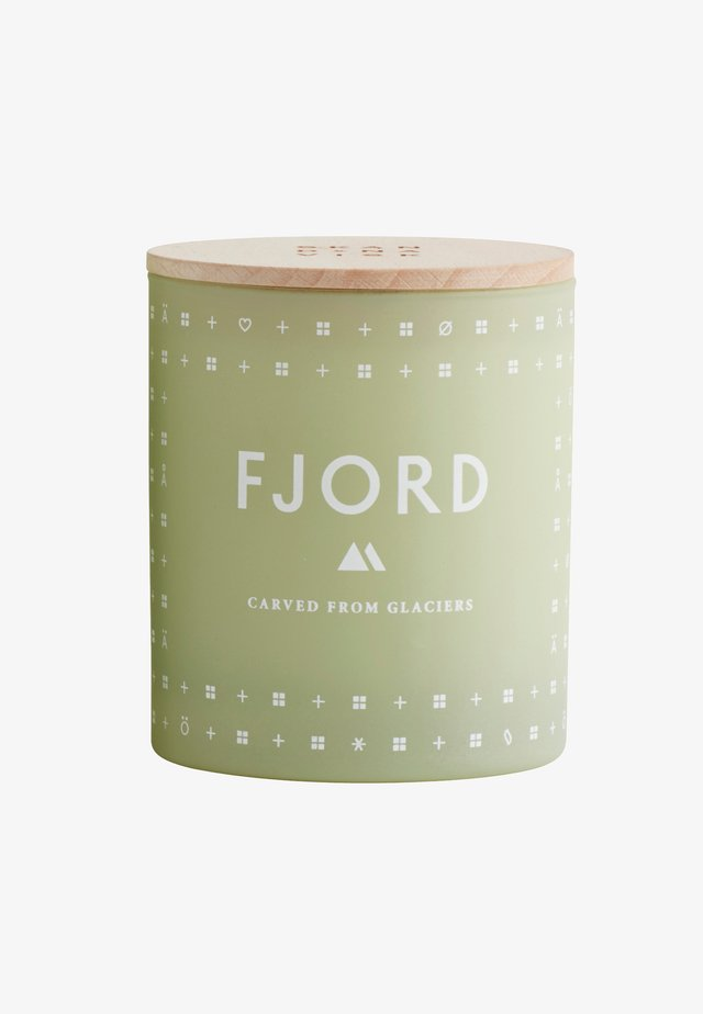 SCENTED CANDLE 190G - Geurkaars - fjord green