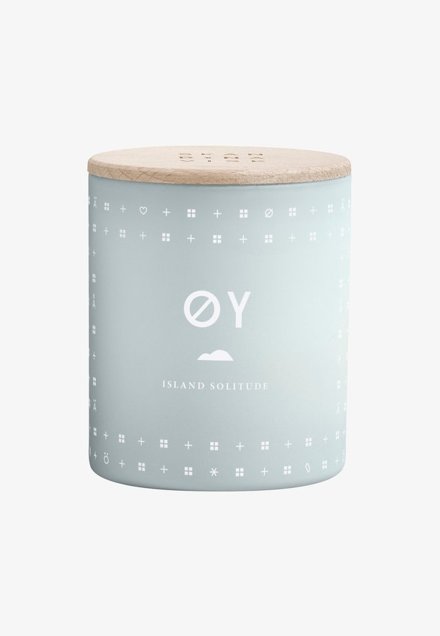 SCENTED CANDLE 190G - Geurkaars - oy powder blue