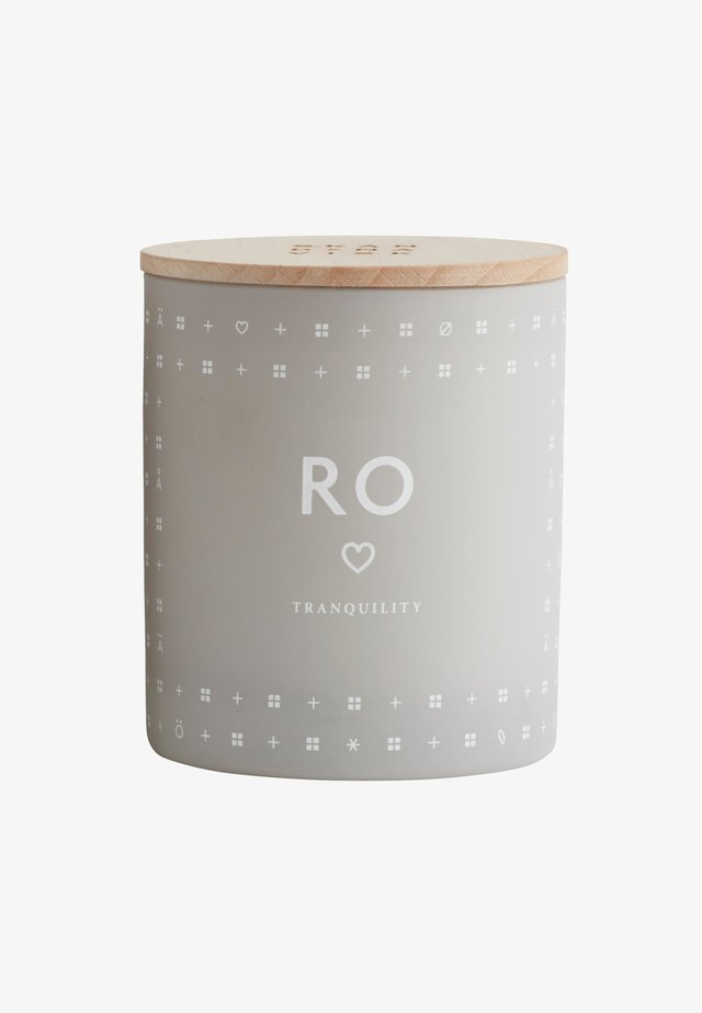 SCENTED CANDLE 190G - Duftlys - ro cool grey