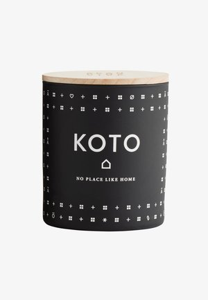 SCENTED CANDLE 190G - Duftlys - koto black