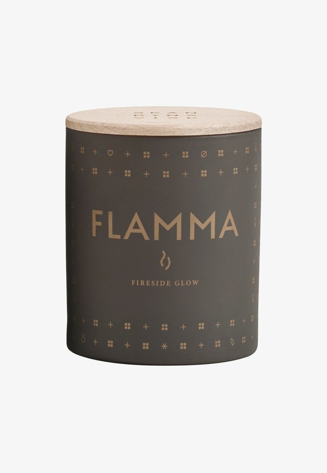 SCENTED CANDLE 190G - Geurkaars - flamma ash