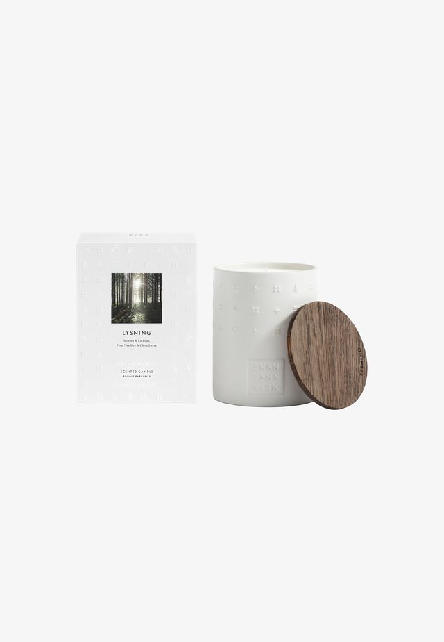 SCENTED CANDLE 300G - Duftlys - lysning white
