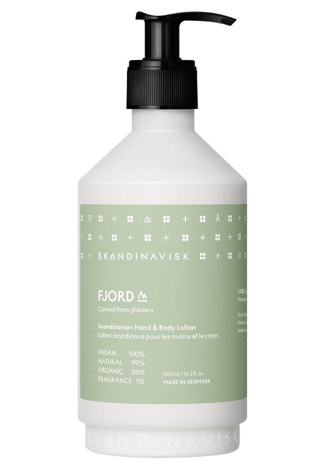 HAND & BODY LOTION - Feuchtigkeitspflege - fjord