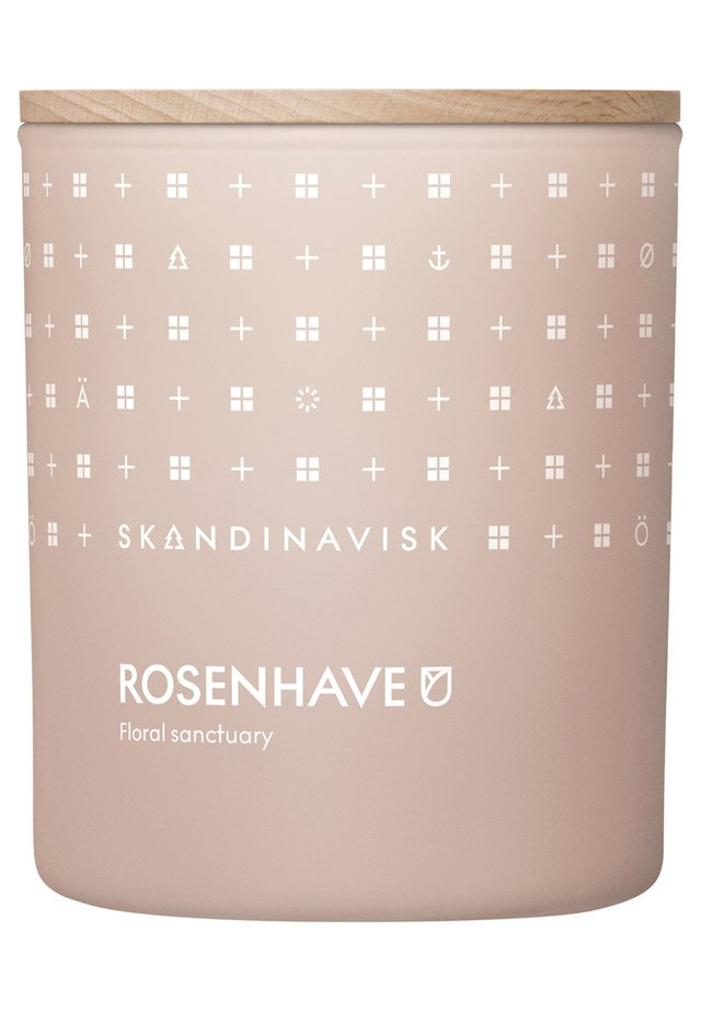 SCENTED CANDLE WITH LID - Duftkerze - rosenhave