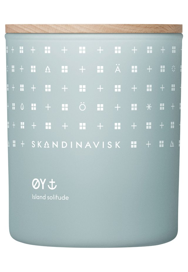 SCENTED CANDLE WITH LID - Duftkerze - øy