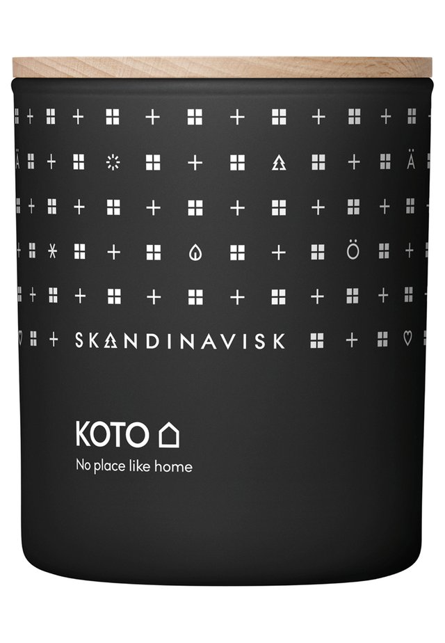 SCENTED CANDLE WITH LID - Duftkerze - koto