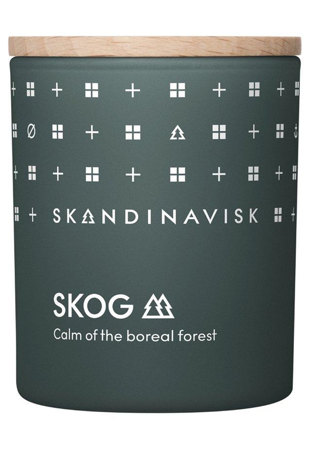 SCENTED CANDLE WITH LID - Duftkerze - skog