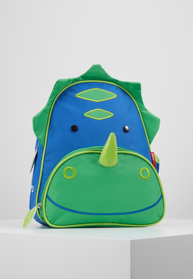 ZOO BACKPACK DINOSAUR - Rucksack - green