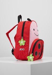 Skip Hop - ZOO BACKPACK LADY BUG - Rugzak - red - 4