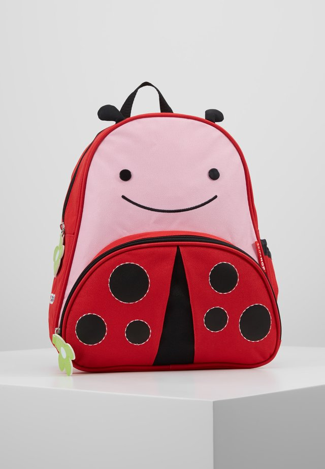 ZOO BACKPACK LADY BUG - Tagesrucksack - red